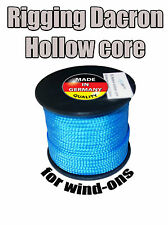 2.0mm Rigging Dacron Hollow Core - to Make Wind-on Leaders. Made in Germany