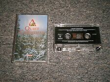 Quiet Christmas~Music To Celebrate The Peace Of Christmas~Cassette~FAST SHIPPING