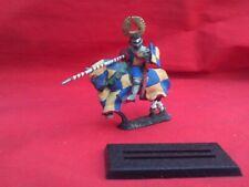 Citadel .28 mm Pintado montado Bretón Caballero en barded Caballo Excelente