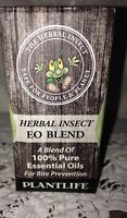 Plantlife Herbal Insect Repellent DEET-free Bite Prevention Just a few drops