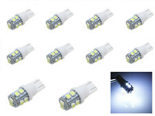 10 x T10 194 168 501 W5W White 10 SMD 5050 LED for Car Side light Bulb DC 12V