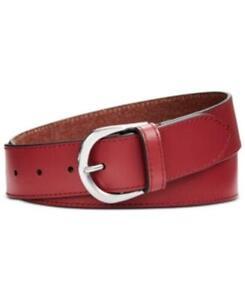 MSRP $48 Calvin Klein Smooth Leather Belt Size XL