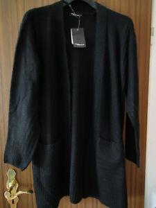 Kuschelige Strickjacke , schwarz , gr. L