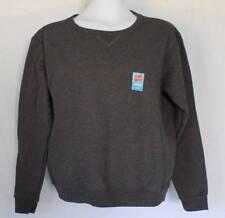 NEW Womens Sweatshirt Plus Size 2X Solid Gray Crew Neck Pullover Sweats Hanes