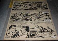 "Tarquinio, Sergio - tavola originale da ""3 Storie Avventurose"" n. 8 del (1954)"