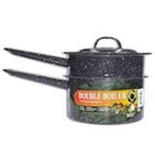 NEW 6150-4 GRANITE 1.5 QUART DOUBLE BOILER COOKING POT