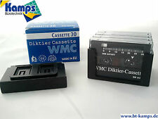 Diktierkassetten, Kassetten für Grundig Diktiergeräte, neu, OVP.