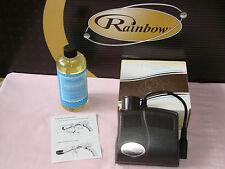 RAINBOW VACUUM RAINBOWMATE + AQUAMATE SHAMPOO * MID SIZE POWER NOZZLE *  CARPET