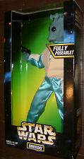 """STAR WARS GREEDO 12"""" DELUXE HIGH GRADE BOXED FIGURE MISB S/H $4.99"""