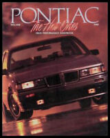 1988 Pontiac High Performance Brochure Trans Am GTA, Original NOS 88