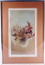 Pervez Captain Lithograph, Botanical, Signed / Numbered, Listed Artist, INDIA