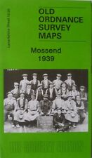 Old Ordnance Survey Map Mossend nr Bellshill Lanarkshire  Scotland 1939 S12.05