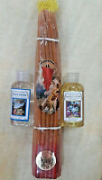 Real Beeswax 33 Candles Blessed Holy Sepulchre Jerusalem Holy Water and Oil