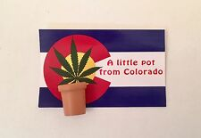 "Marijuana Gag Gift ""A Little Pot from Colorado"" Weed,, Cannabis Gag Gift"
