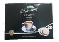 O' Sarracino Kaffeepads Espresso ese 50 Pads Kaffee Coffee packung 44mm