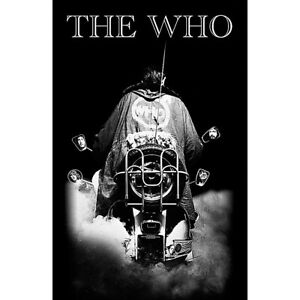 The Who Quadrophenia  large fabric poster / flag 1100mm x 700mm (rz)