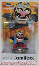 Wario Amiibo Figur No. 32 - Super Smash Bros. Neu OVP WIIU