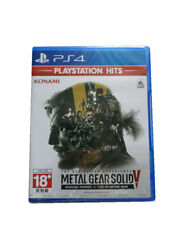 Metal Gear Solid V Ground Zeroes + The Phantom Pain PS4 2018 Chinese English