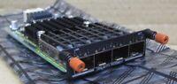 Dell PC8100 N4000 MXL 4 Quad Port Port 10GbE SFP+ Module 0PHP6J PHP6J