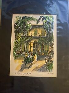 Art Print The Ernest Hemmingway Home Key West By RE Kennedy