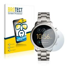 Fossil Q Explorist, 2x BROTECT® HD-Clear Screen Protector Crystal-clear coated