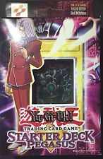 Yu-Gi-Oh PEGASUS 1ST ED MINT STARTER DECK FACTORY SEALED FREE EXPEDITED SHIP
