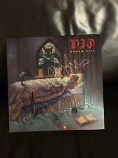 vinyl records- Dio- Dream Evil- New Special Edition Green Pressing, Signed By V.