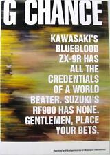Kawasaki ZX-9R/suzuki RF900-moto sales brochure - 1994 - #MB234