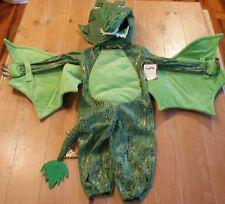 New Pottery Barn Kids GREEN DRAGON Costume - Kids Size 3T
