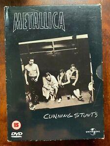 Metallica Cunning Stunts DVD 1998 Rock Metal Concert 2 Discs