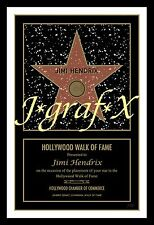 YOUR NAME on HOLLYWOOD WALK-OF-FAME STAR - QUAL REPRO POSTER - VERY COOL GIFT!!!