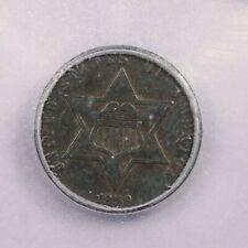 1859-P 1859 3 cents ICG EF40