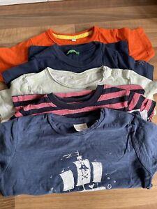 Baby Boy Tshirt Bundle X 5 (Zara, Benetton, Gap) 12-18 Months