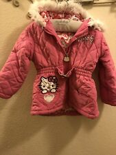 Hello Kitty Pink Coat 3T