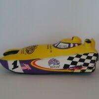 Al Copeland's Toy Yellow Speedboat New Orleans Mardi Gras Turbine Boat Racing