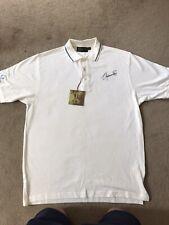 Seve Ballesteros Signed Augtograph Shirt Golf PGA Legend AFTAL / UACC COA