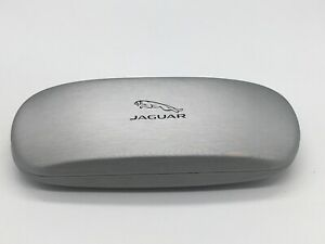 Jaguar Case Glasses Case Cover Vintage Silver Hardcase Gift Box