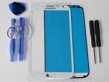 SAMSUNG GALAXY NOTE 2 N7100 N7105 LTE FRONT GLAS TOUCH SCHEIBE TOUCHSCREEN WEIß