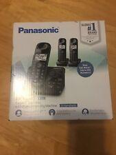 NEW Panasonic KX-TGL433B / KX-TG3683B Dect 6.0 - 3 Handset Landline Telephone