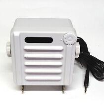 WATERPROOF MARINE EXTERNAL SPEAKER FOR RADIOS, CB,S 1P68 RATING WHITE