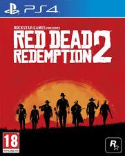 Red DEAD REDEMPTION 2 (PS4) e Nuovo di Zecca sigillato-IN STOCK-CONSEGNA RAPIDA