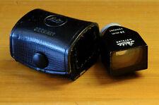 VIEWFINDER LEITZ 28mm  BLACK METAL, LEICA CAMERA