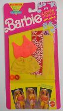 1991 Mattel Barbie Doll Clothes FASHION WRAPS Shirt Shorts Scarves Bracelet 2936