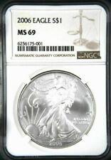 Monedas de plata MS 69