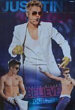 Justin Bieber-a1 POSTER XXL (- 80 x 55 cm) - skinning Believe Tour 2013 NUOVO