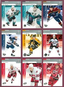 2002-03 UD PIECE OF HISTORY NHL HOCKEY CARD 1 TO 150 SEE LIST