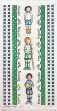 FRIENDS GIRL SCOUTS BO-BUNNY PRESS 6 X 12 IN. SHEET STICKERS FLOWERS HIKING