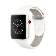 New Apple Watch 3 Edition 38mm White Ceramic Case Soft White Sport Band