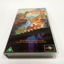 The Land Before Time - 1988 Movie VHS Video Tape Lucas & Spielberg Animated
