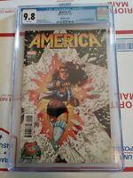 America #1 CGC 9.8 Convention Variant CGC 9.8.  Hot Comic!!!